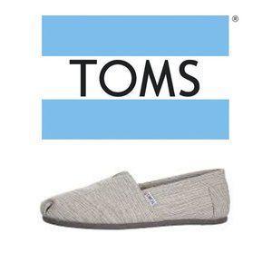 Toms Woven Alpargata - Size 10